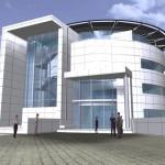 Siemens - new entrance pavillion